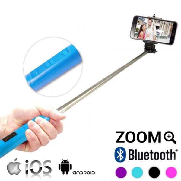 bluetooth selfie stick with zoom buy at wholesale price. Black Bedroom Furniture Sets. Home Design Ideas
