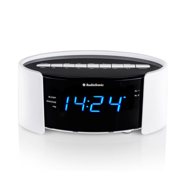audiosonic cl1493 radio alarm clock buy at wholesale price. Black Bedroom Furniture Sets. Home Design Ideas