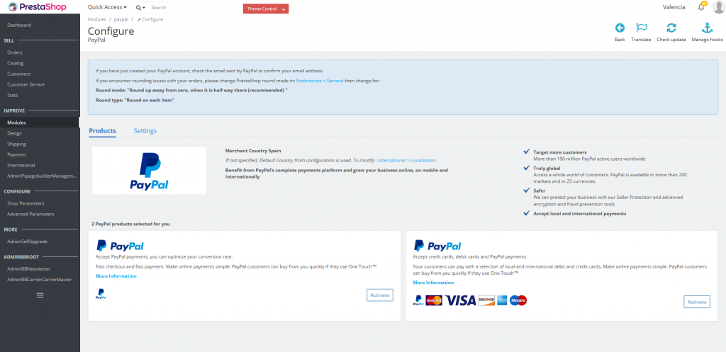 I already have a PayPal account, how can I synchronise it with my ...