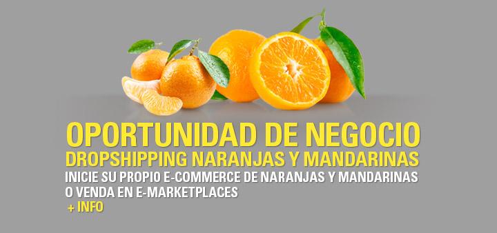 Oportunidad de negocio - Dropshipping naranjas y mandarinas