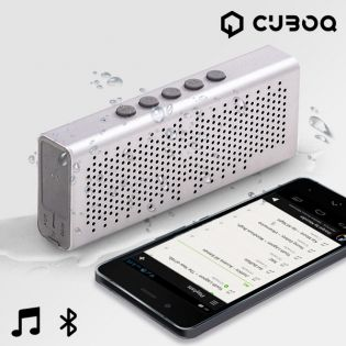 Altavoz Bluetooth Waterproof CuboQ Metal