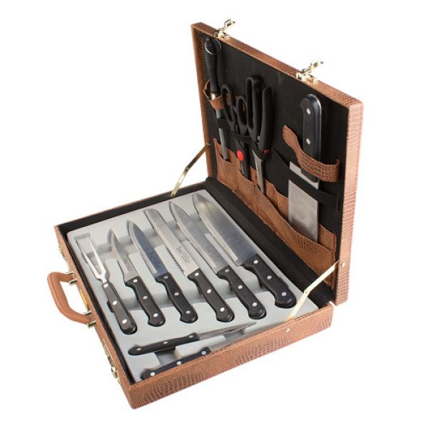 Valigetta coltelli da cucina 13 pezzi ebay - Kit coltelli da cucina ...