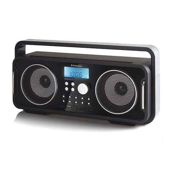 audiosonic rd1556 rechargeable bluetooth retro radio buy at wholesale price. Black Bedroom Furniture Sets. Home Design Ideas