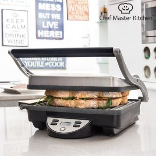 Panini Grill Chef Master Kitchen