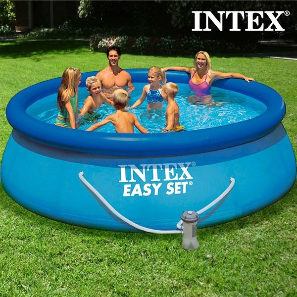 Piscina rotonda con depuratore intex comprare a prezzo for Piscina intex rotonda