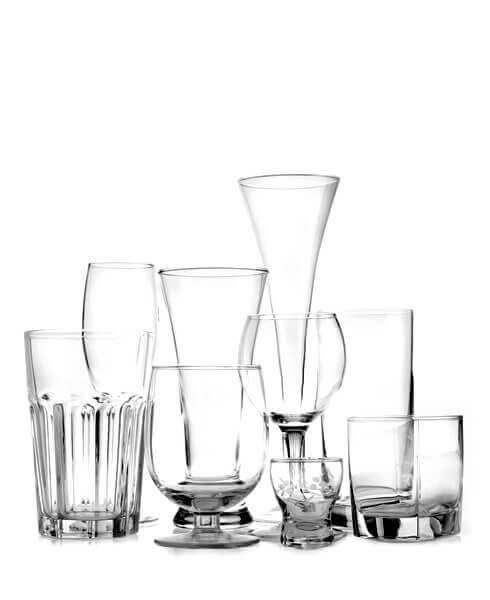 Glas og kander