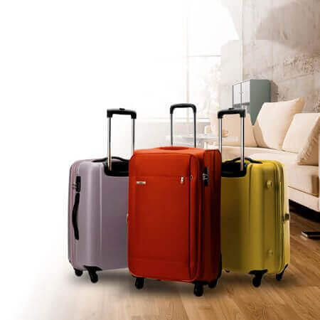Suitcases and Hand Luggage